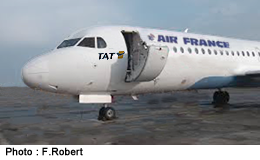 Porte Photo Fokker  F 100